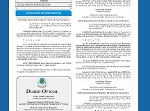 DIARIO OFICIAL 216x160 - Edição Ordinária 970 de 03 de agosto de 2020
